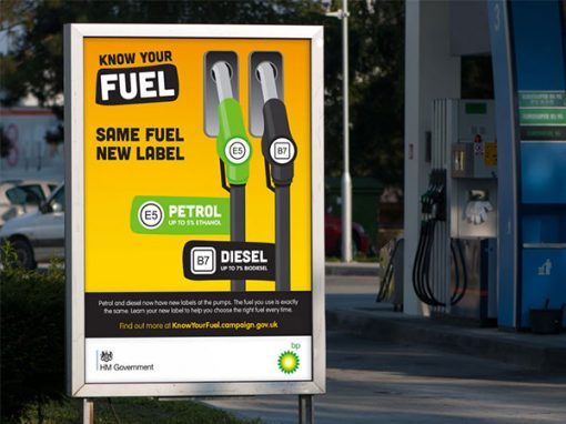 Department for Transport – Know Your Fuel campaign